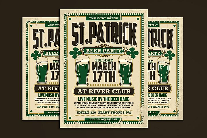 St Patricks Day Beer Party