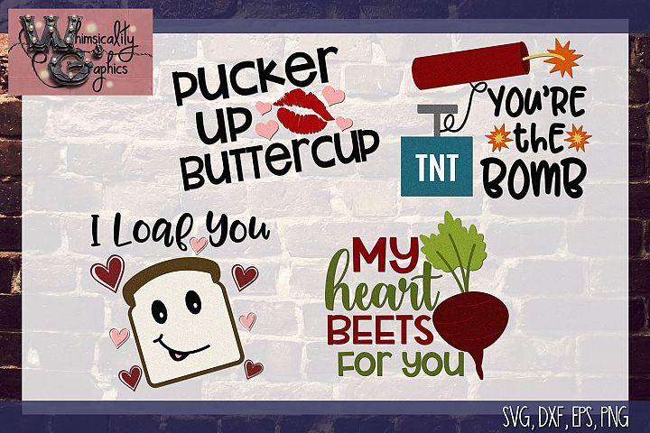 Valentine Funny Mini Bundle SVG DFX PNG EPS JPEG Comm