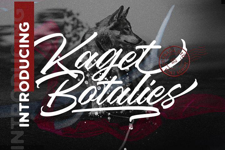 Kaget Botalies Script