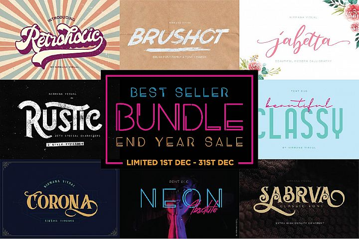 BEST SELLER COLLECTION BUNDLE - END YEAR SALE