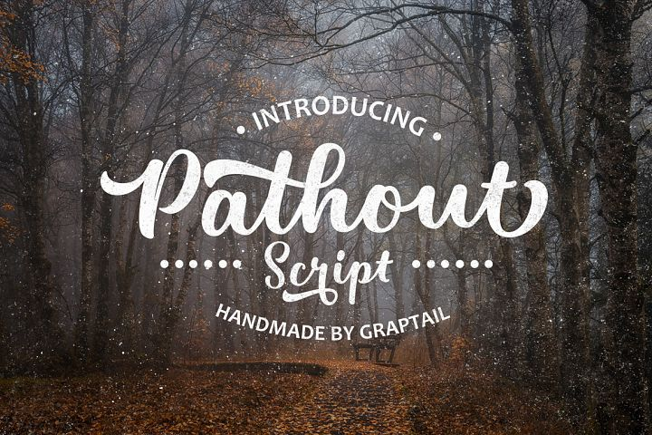 Pathout Script - Free Font of The Week Font