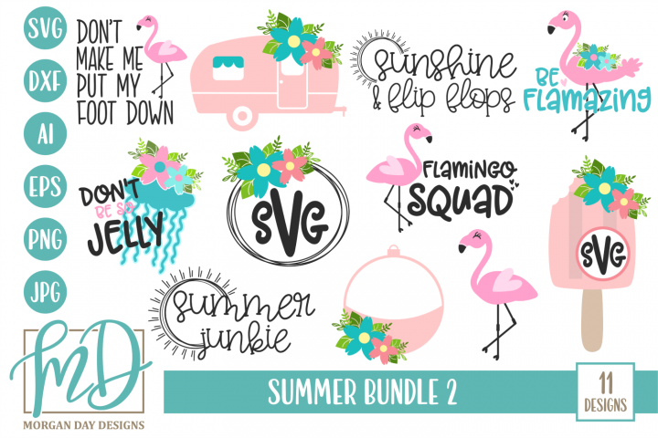 Beach SVG - Lake SVG - Camping SVG - Summer Bundle SVG