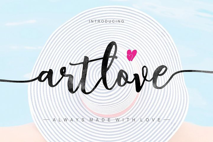 ArtLove Typeface
