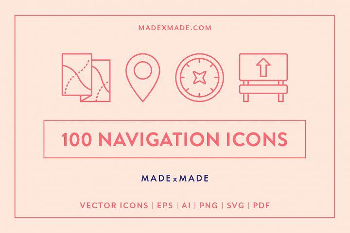 Line Icons - Navigation