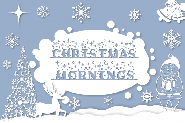 Christmas Mornings | Winter & Christmas Font with Extras
