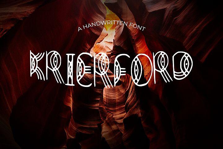 Krierford Font