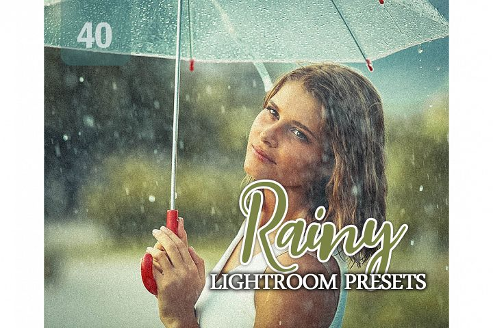 Rainy Lightroom Presets