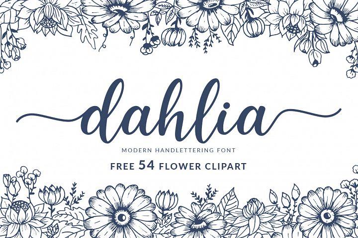 Dahlia Handlettering Font