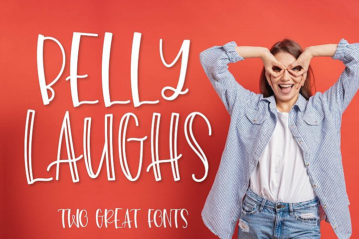 Belly Laughs - A Font Duo