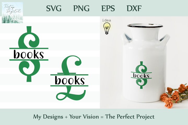 Saving for Books, A Savings Series, SVG