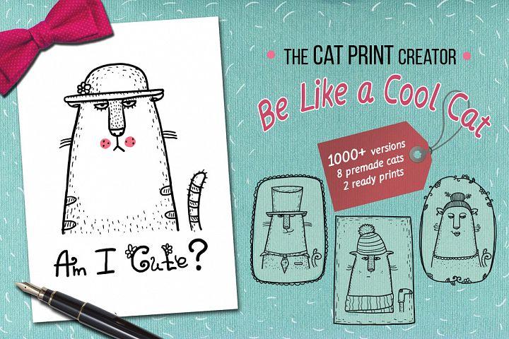 The print creator - Like a Cool Cat