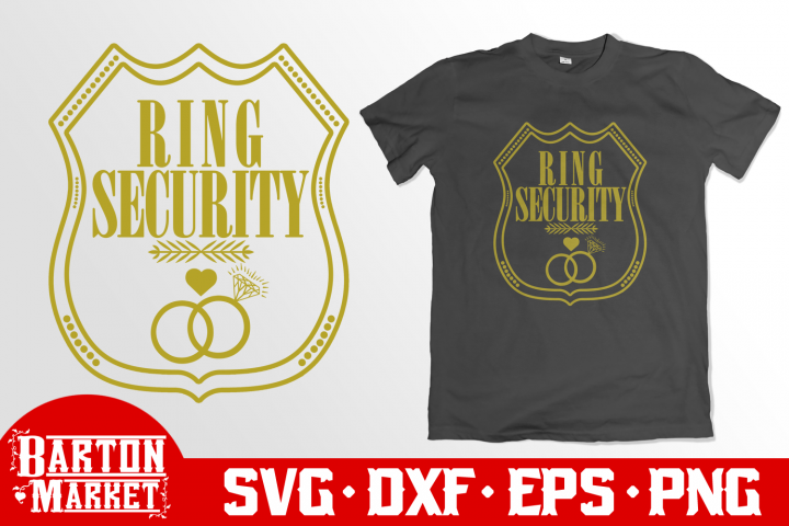 Ring Security SVG DXF EPS PNG