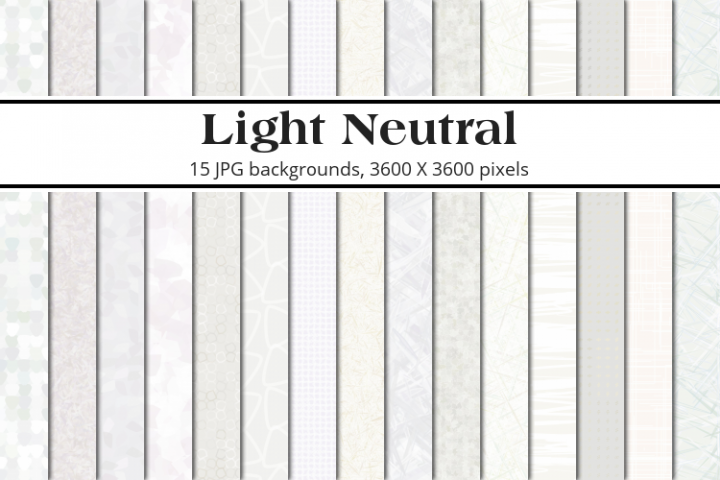 Light Neutral Background Pack