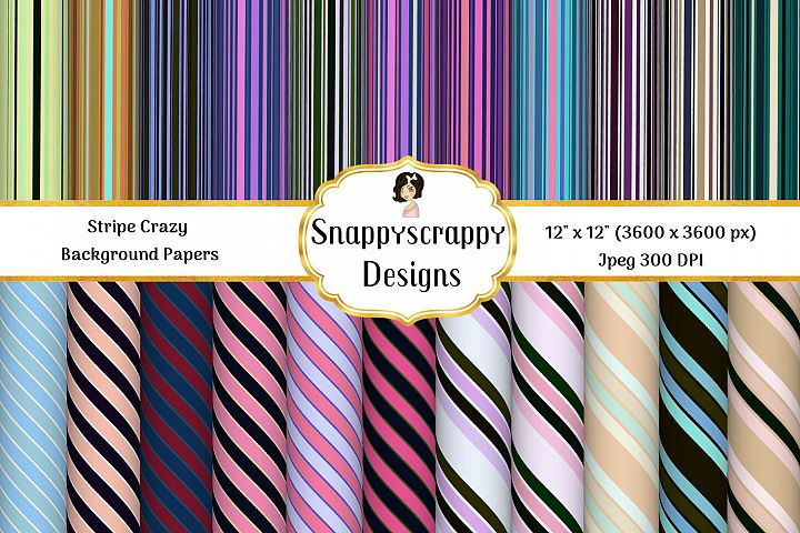 Crazy Stripes - Background Papers