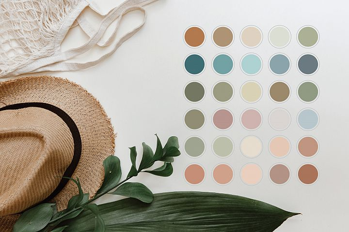 30 Neutral Instagram Highlight Story Icons