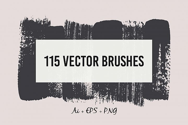 115 Vector Brushes