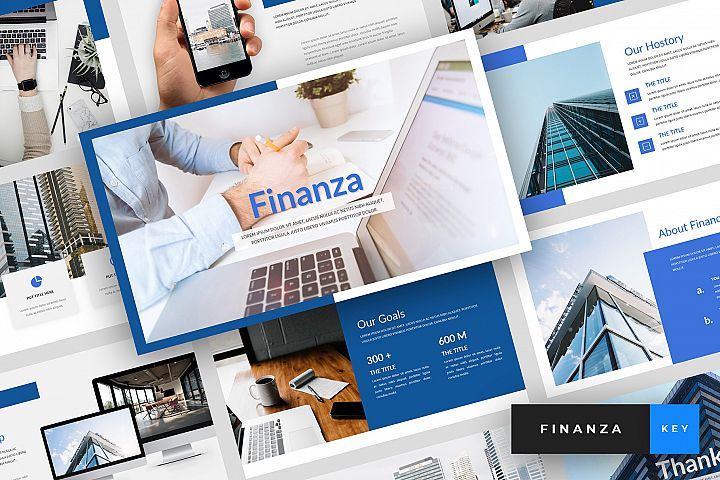 Finanza - Finance Keynote Template