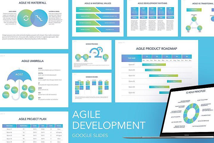 Agile Development Google Slides Template
