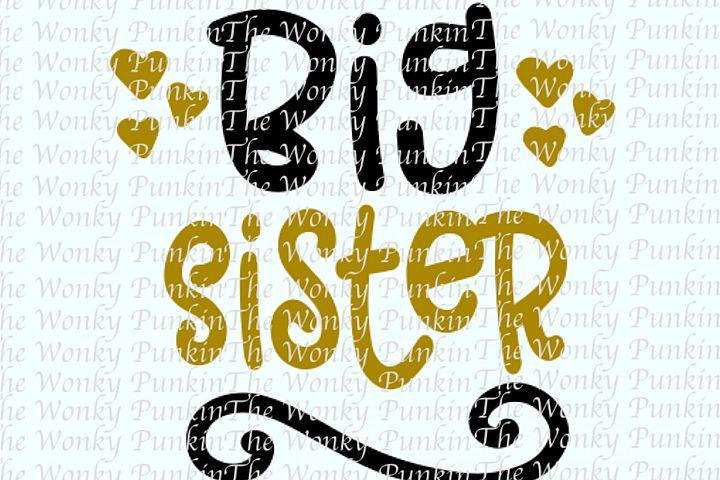 Big Sister SVG