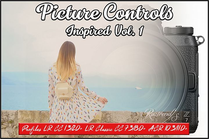 Picture Controls Inspired Vol. 1 profiles LR 7.3 ACR 10.3