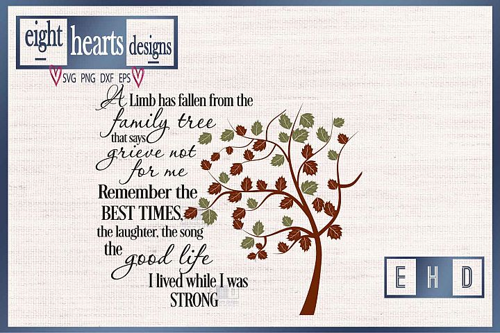 Grieving Tree SVG EPS DXF Cutting File