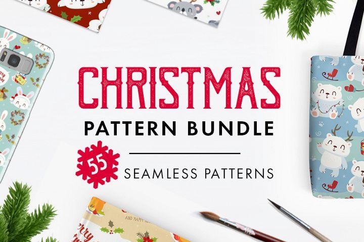FINAL SALE!  Christmas patterns bundle