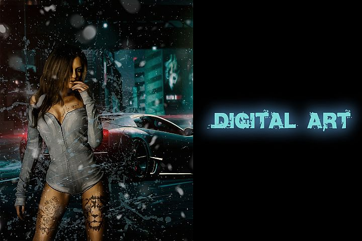 Digital art Girl