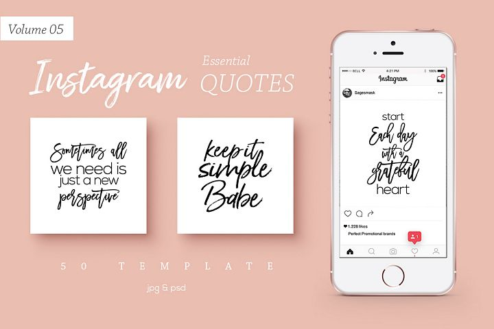 50 Instagram Essential Quotes Vol. 5