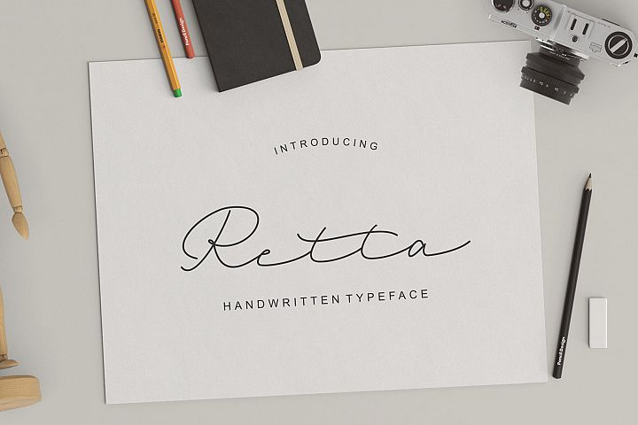 Retta Handwritten Typeface