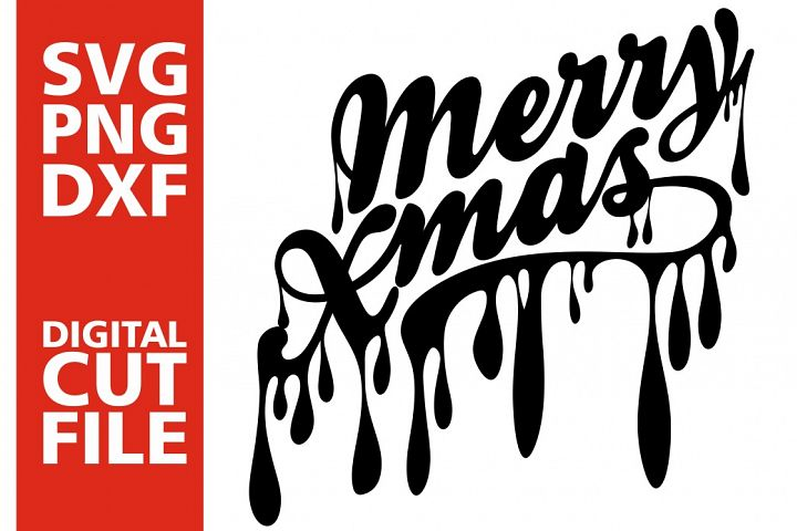 Merry Christmas svg, Dripping svg, Christmas, Afro girl svg