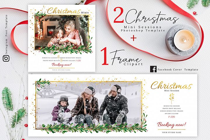 Christmas Mini Session Template 02