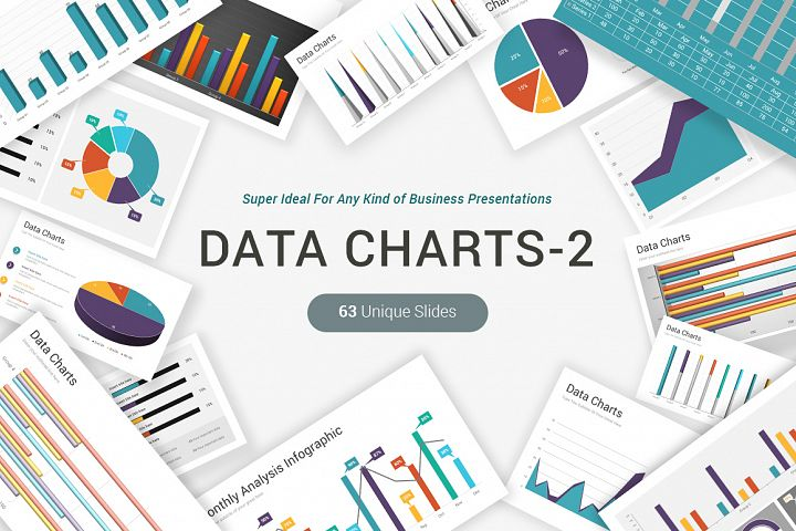 Data Charts PowerPoint Template Pack
