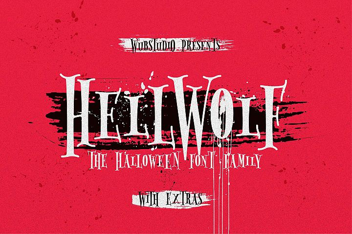 Hellwolf Typeface - DISCOUNT