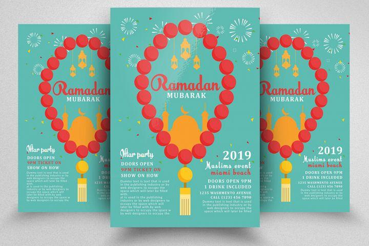 Ramadan Mubarak Flyer