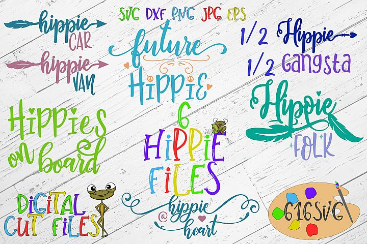 Hippie Mini Bundle SVG