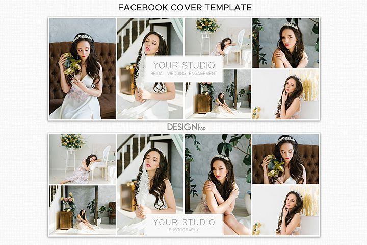 Collage Facebook Cover Template for Photographers