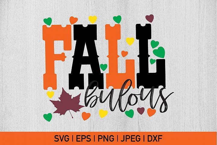 Fall Bulous , Fall Svg