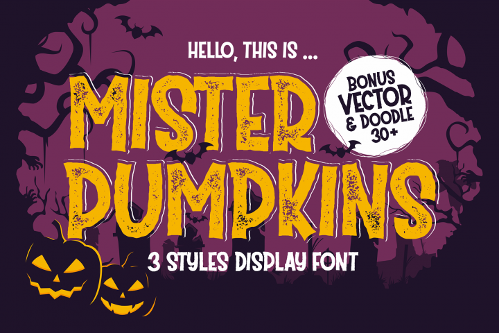 Mister Pumpkins | Bonus Vector