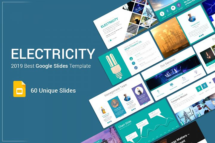 Electricity Google Slides Template