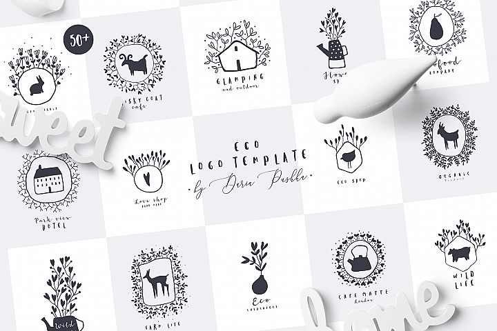 ECO LOGO TEMPLATES.