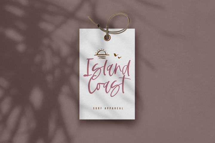 Tropical Coast - A Handwritten Script Font example image 9