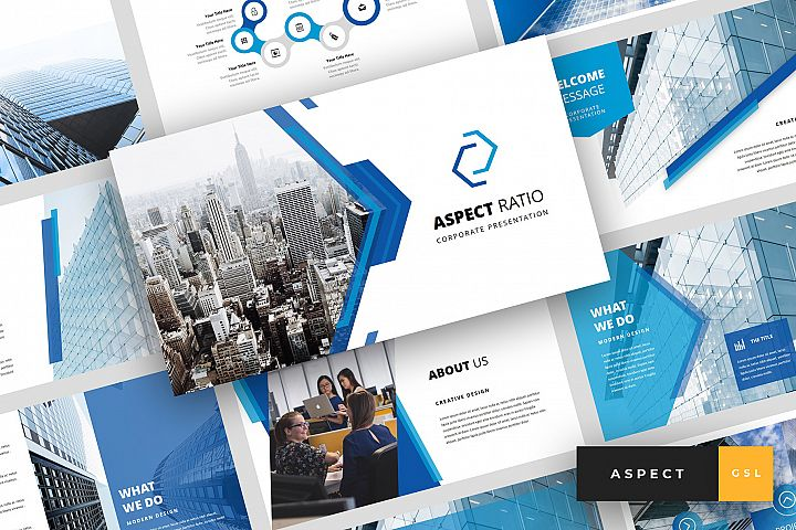 Aspect - Creative Google Slides Template