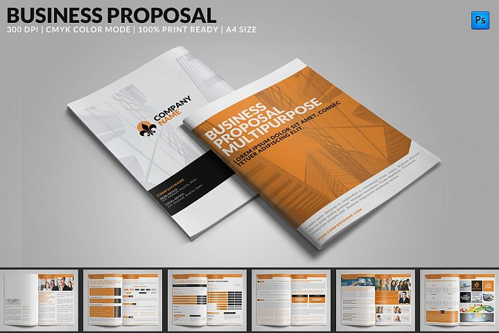 Business Proposal Multipurpose