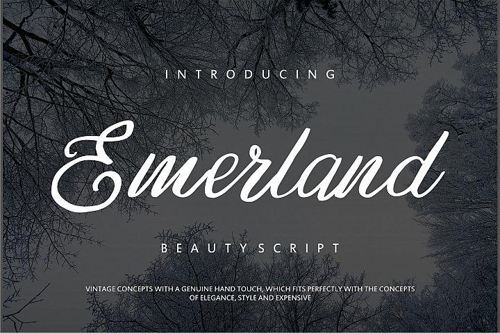 Emerland   Beauty Script Handwritten