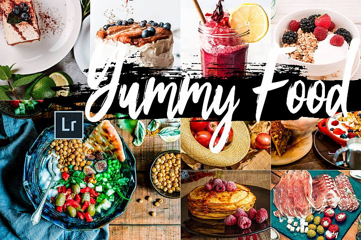 Neo Yummy Food Theme Desktop Lightroom Presets