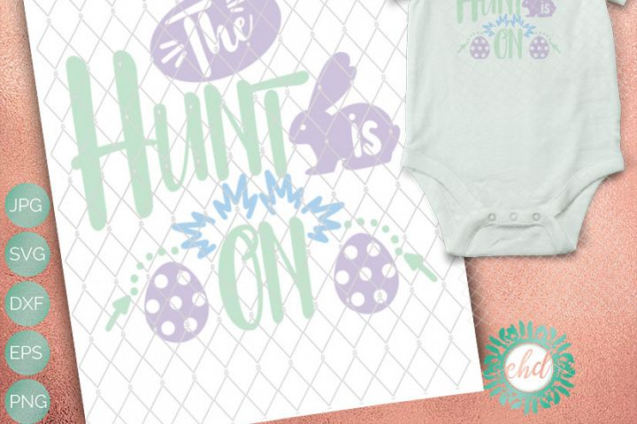 The Hunt is On -  Includes SVG, DXF, EPS and PNG