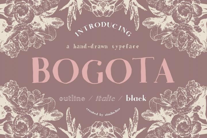 Bogota Handwritten Font