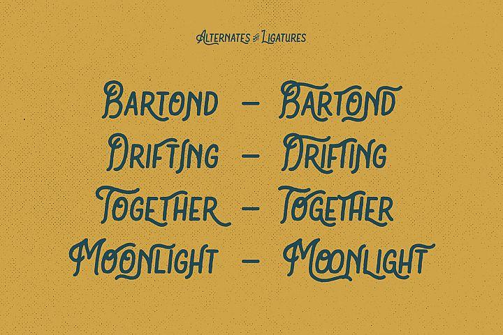Bartond Typeface example image 3