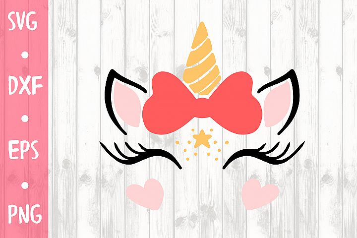 CUTE UNICORN SVG CUT FILE