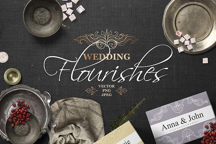 Vintage Wedding Flourishes Bundle